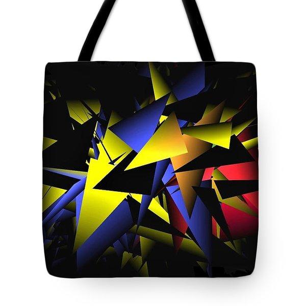 Shattering World Tote Bag