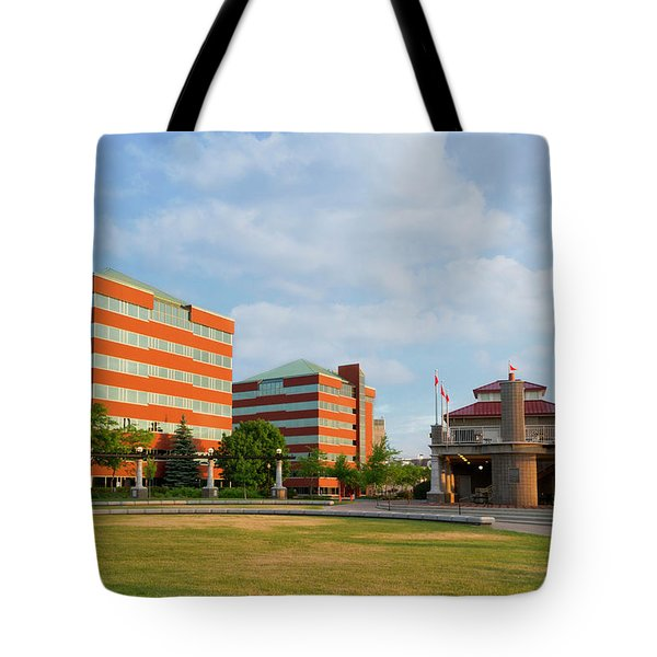 Tote Bag featuring the photograph Shattuck Park by Joel Witmeyer
