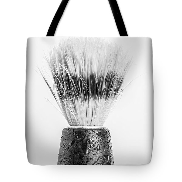 Tote Bag featuring the photograph Shaving Brush by Gary Gillette