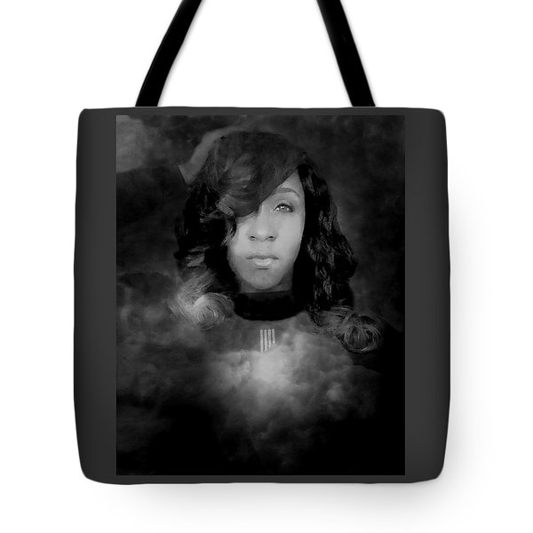 Shavon Portrait Tote Bag