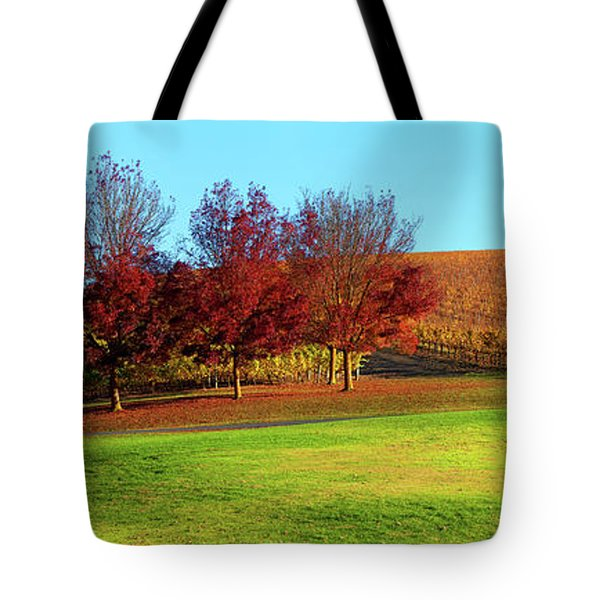 Shaw And Smith Winery Tote Bag by Bill Robinson