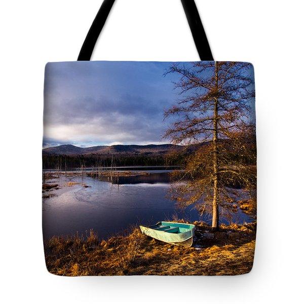 Shaw Pond Sunrise Tote Bag