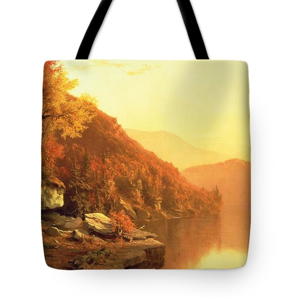 Shawanagunk Mountains Tote Bag by Jervis McEntee