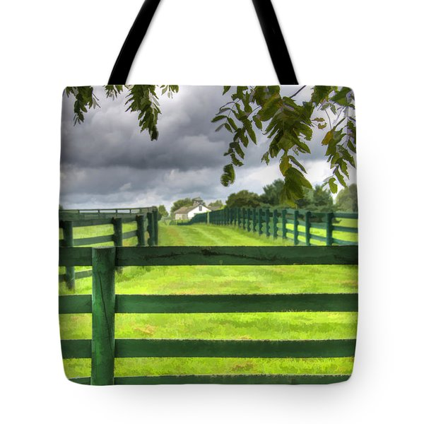 Shawanee Fences Tote Bag
