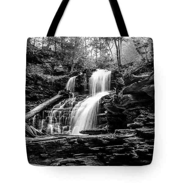Shawnee Falls - 8892 Tote Bag by G L Sarti
