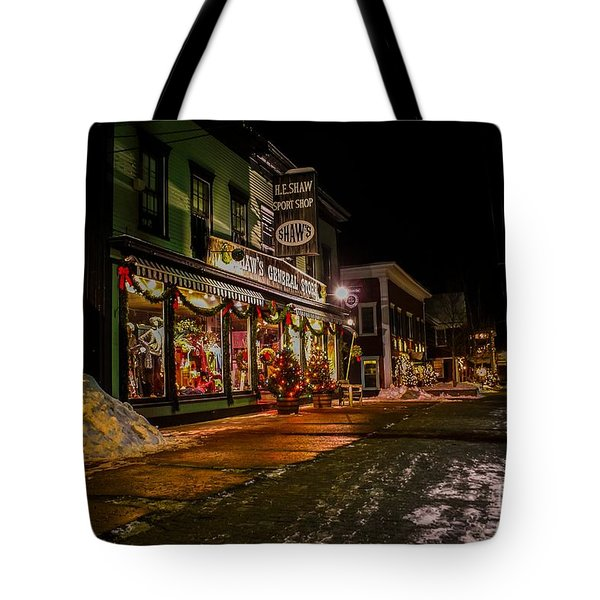 Shaws Sports Store. Tote Bag