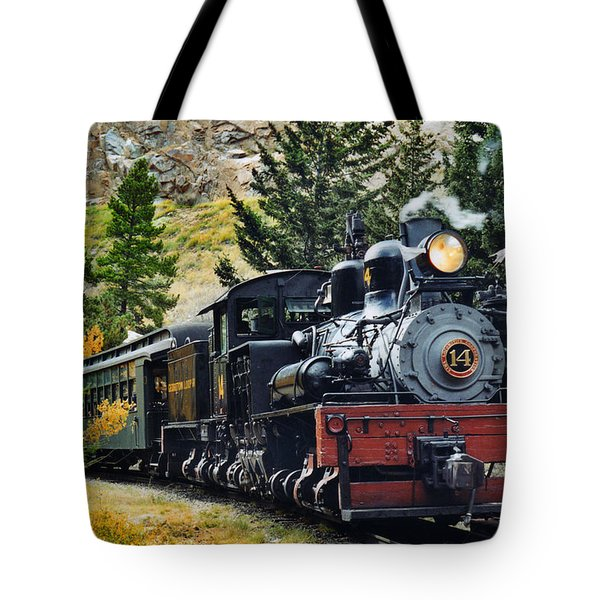 Shay On The Georgetown Loop Tote Bag