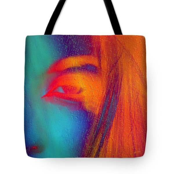 She Awakes Tote Bag