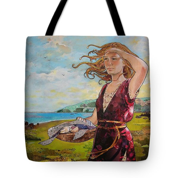 She Baked The Loaves And Dried The Fishes Tote Bag by Robin Birrell
