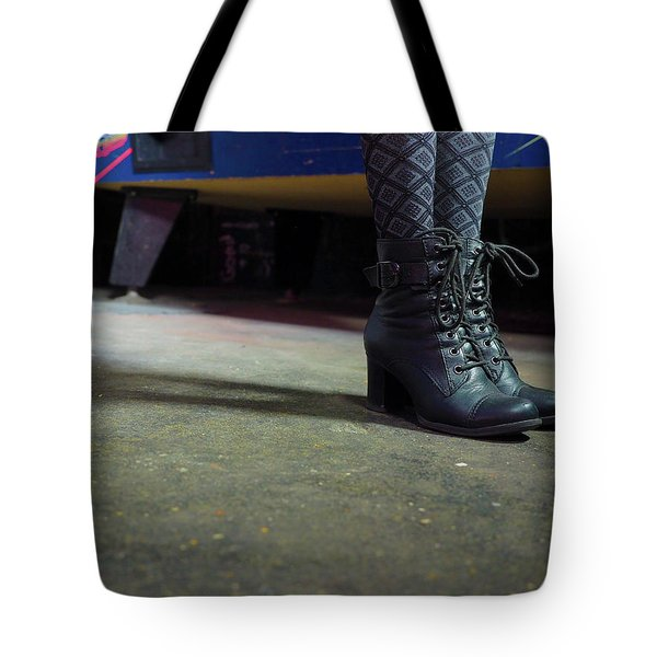 Tote Bag featuring the photograph She Came To Play by Lora Lee Chapman