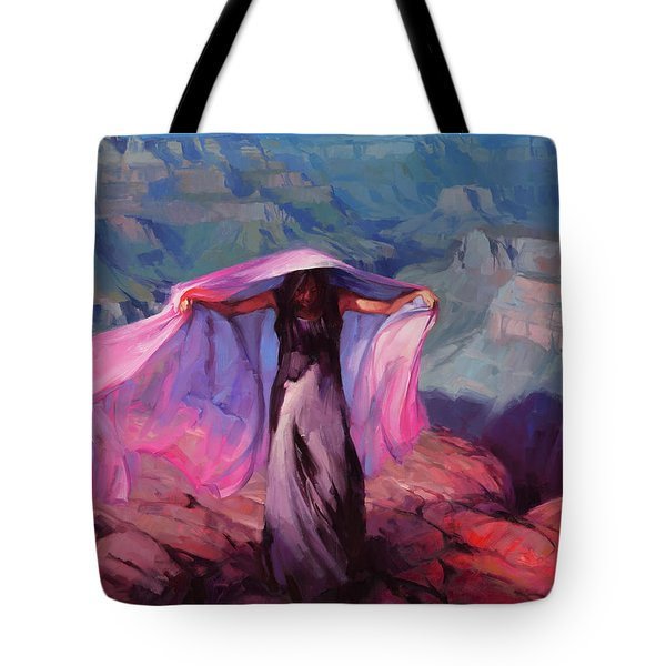 She Danced By The Light Of The Moon Tote Bag