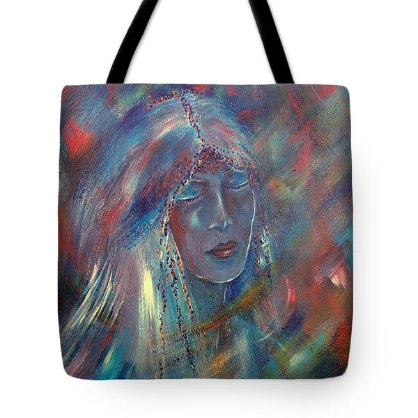 She Dreams In Color Tote Bag by Robin Monroe