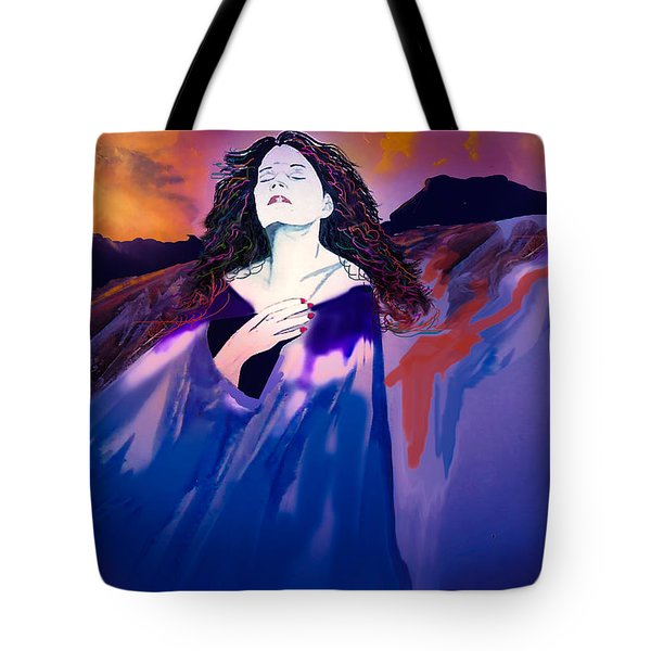 She Dreams In Rainbow Colors Tote Bag by J Griff Griffin