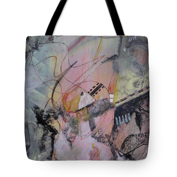 Tote Bag featuring the mixed media She Got Lost On Purpose by Robin Maria Pedrero