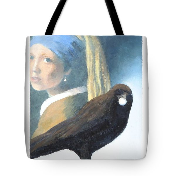 She Had A Pearl Earring Tote Bag