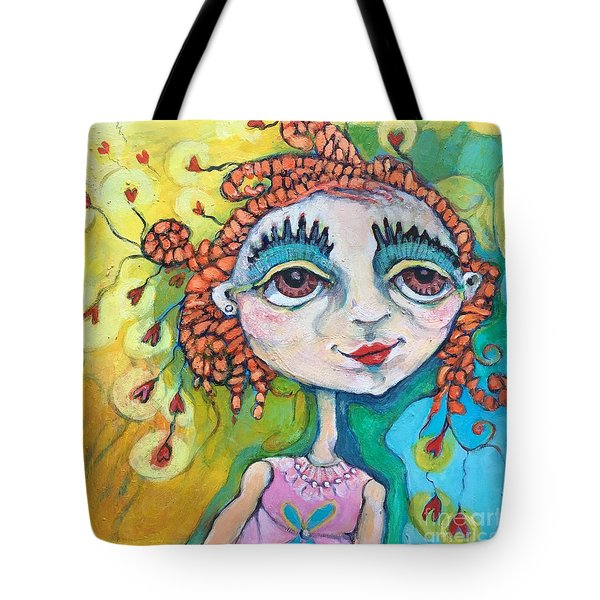 She Has Lots Of Heart To Give Tote Bag