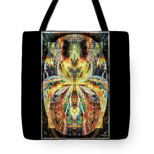 She Is A Mosaic Tote Bag by Paula Ayers