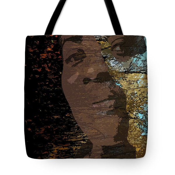 She Is Loved Tote Bag by Cedric Hampton