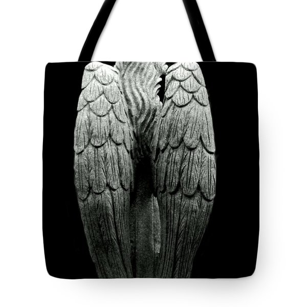 She Talks With Angels Tote Bag