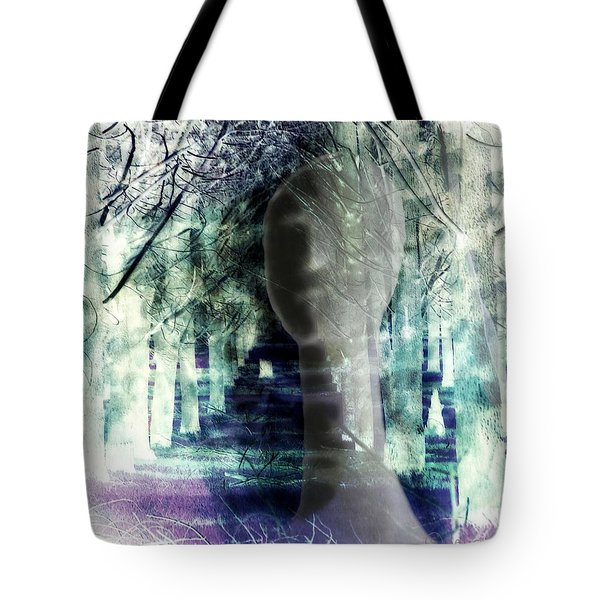 She Thought She's Never Be Alone Again Tote Bag
