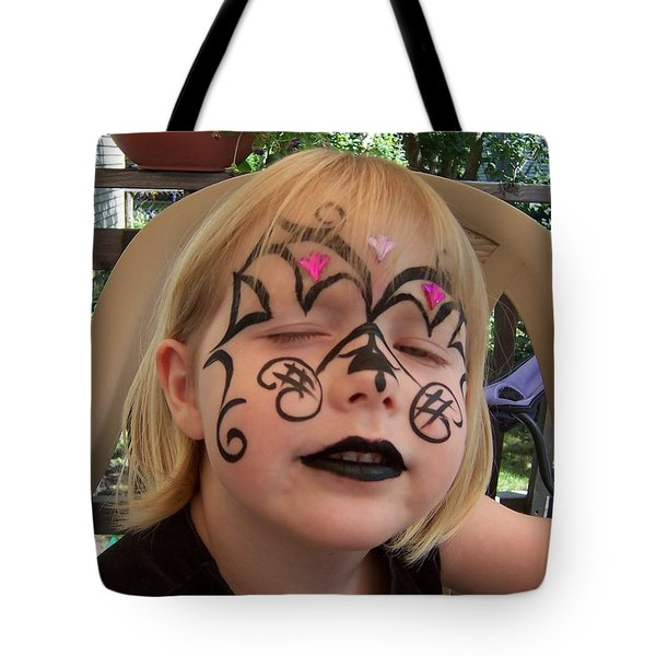 She Wanted A Tough Face Tote Bag