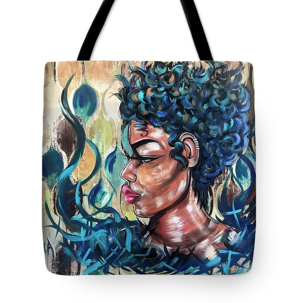 She Was A Cool Flame Tote Bag