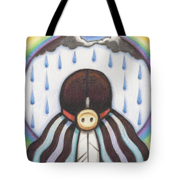 She Who Brings The Rain Tote Bag by Amy S Turner