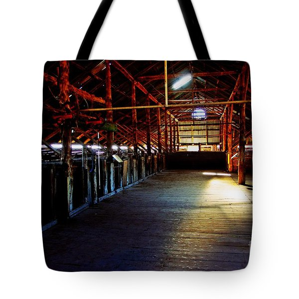 Shearing Shed From A Bygone Era Tote Bag by Blair Stuart