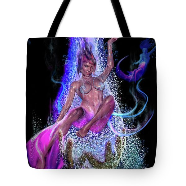 Shed Your Fins Tote Bag