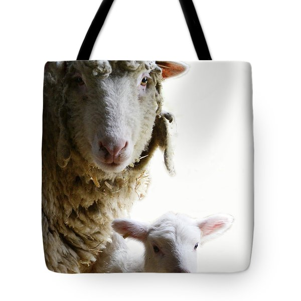 Sheep Portrait Tote Bag