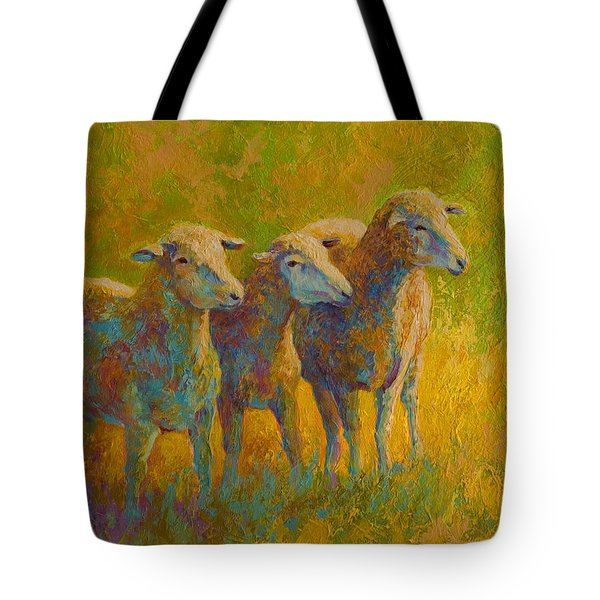 Sheep Trio Tote Bag