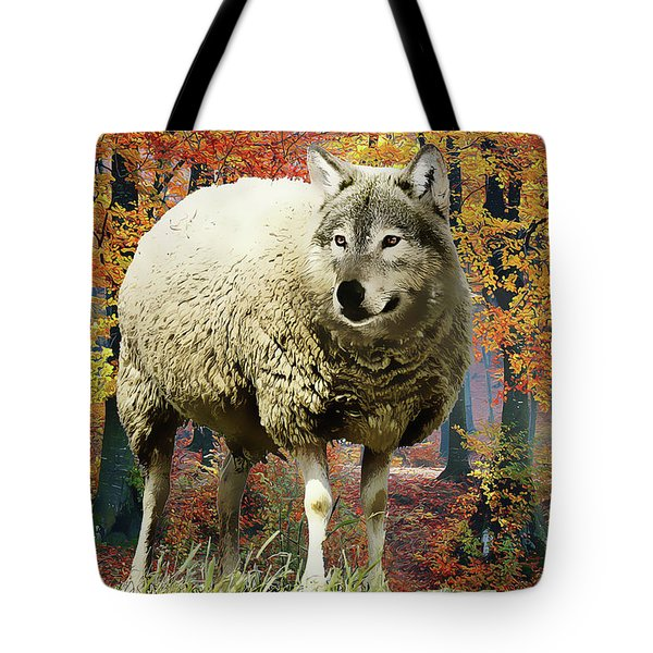 Sheep's Clothing Tote Bag