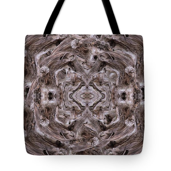 Sheep's Head Vortex Kaleidoscope Tote Bag