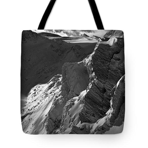 Sheer Alps Tote Bag