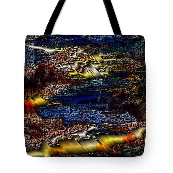Sheet Metal  Tote Bag