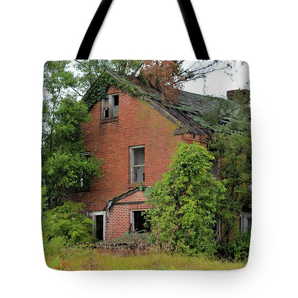Sheffield House Panorama Tote Bag by Bonfire Photography