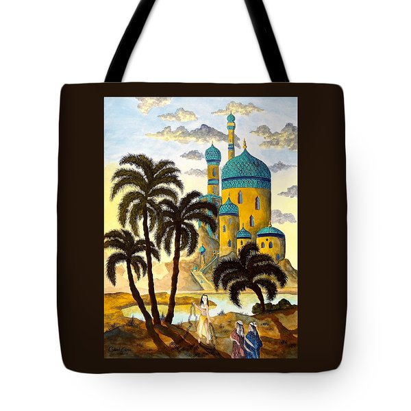 Shehriyar And Shahzeman Tote Bag