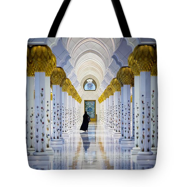 Sheikh Zayed Grand Mosque Tote Bag