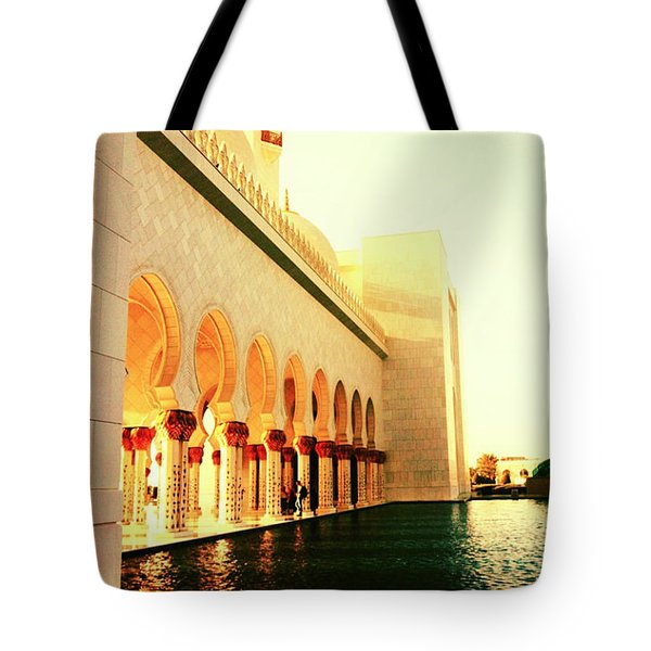 Sheikh Zayed Mosque  Tote Bag