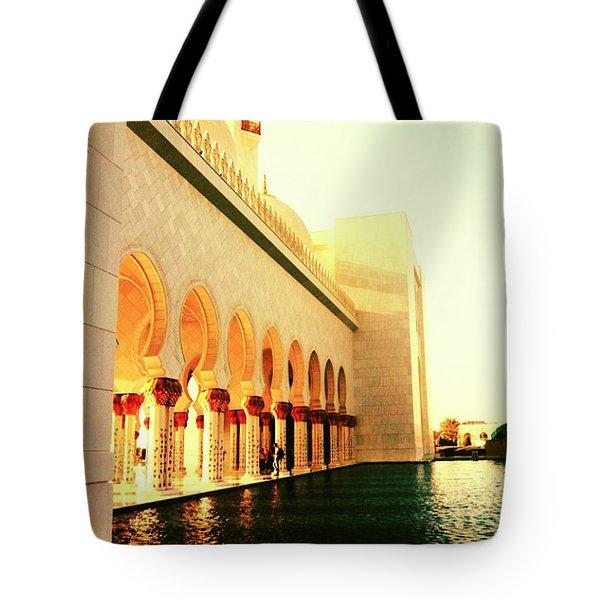 Sheikh Zayed Mosque  Tote Bag