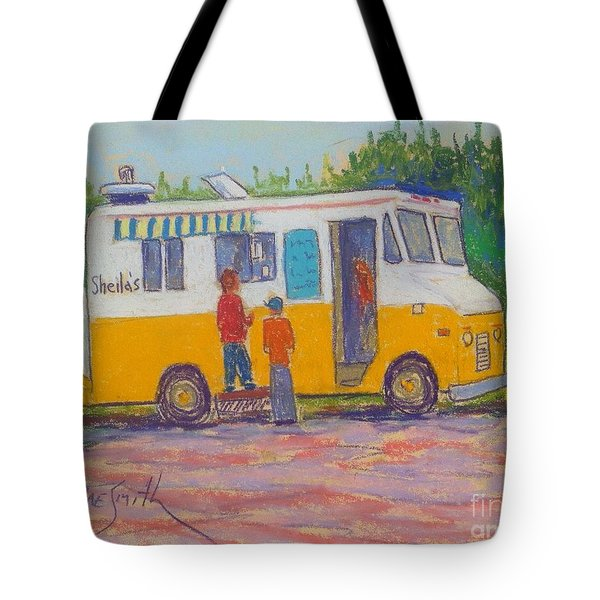 Sheila's Chip Wagon Tote Bag