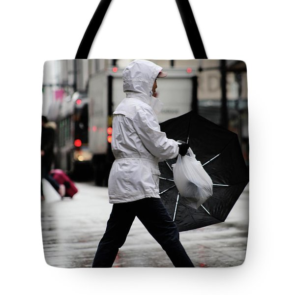 Tote Bag featuring the photograph Sheild Of Rain  by Empty Wall