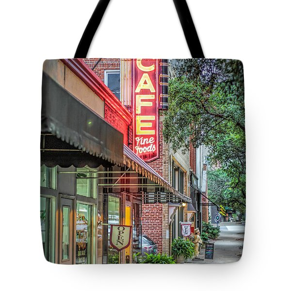 Shelby Cafe Tote Bag