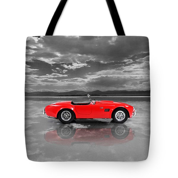 Shelby Cobra 1965 Tote Bag