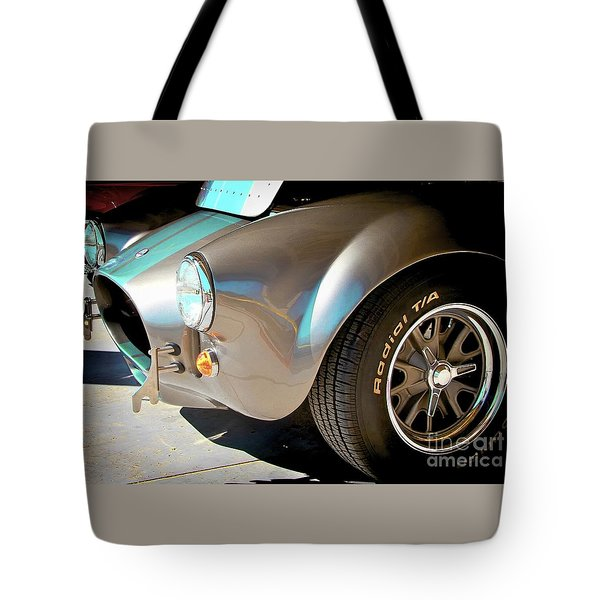 Shelby Cobra Abstract Tote Bag