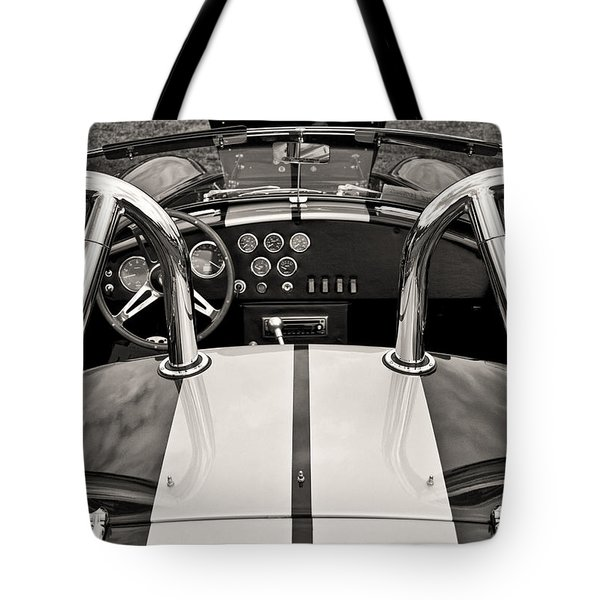 Shelby Cobra Tote Bag by Scott Wood