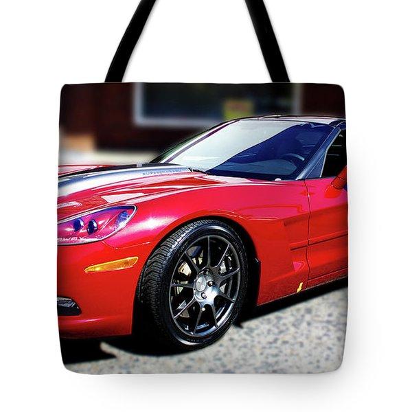 Shelby Corvette Tote Bag