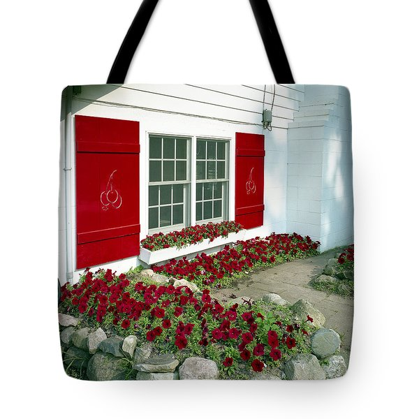 Shelby Flowers Tote Bag