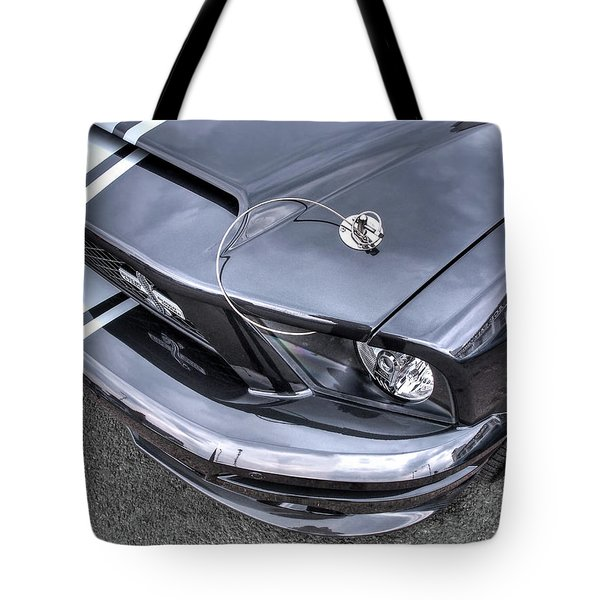 Shelby Super Snake At The Ace Cafe London Tote Bag