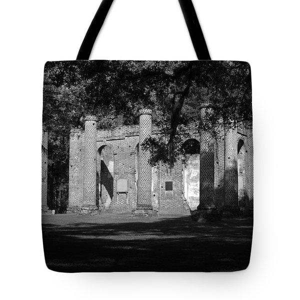 Sheldon Church 7 Bw Tote Bag